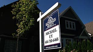 Rising interest rates and falling demand are cooling B.C.'s  residential real estate market.