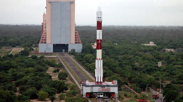 Chandrayaan-1 was launched in October 2008 from the Satish Dhawan Space Centre in Sriharikota, about 100 kilometres north of Chennai, India. It successfully crash-landed a probe on the moon's surface, but the orbiting satellite suffered a communications failure less than a year after liftoff.