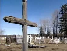 Milloy's working group wants to investigate the number of residential school students who are buried at cemeteries like this one in Fort Resolution, N.W.T.