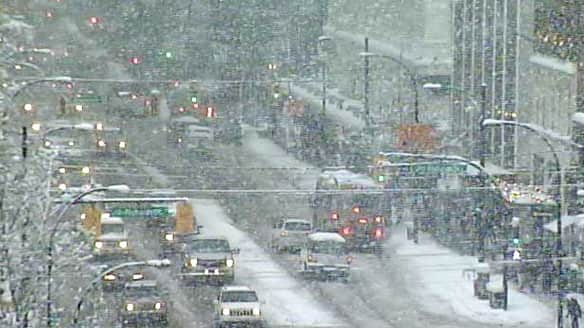 Road Conditions Vancouver: Winter Blasts Contribute To Rash Of Crashes In B.C