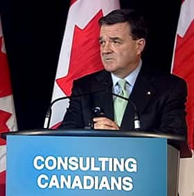 Finance Minister Jim Flaherty brings down his budget Tuesday. (CBC)