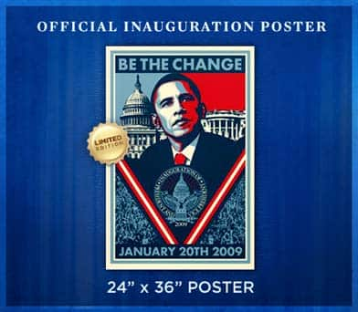 shepard fairey barack obama poster. fooled again.quot;) Official