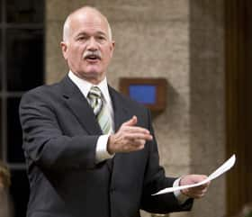NDP Leader Jack Layton introduced a motion Wednesday that would prevent the prime minister from proroguing Parliament for longer than seven days unless supported by the House.
