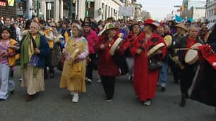 Hundreds marched through the streets of Vancouver in honour of missing and murdered women.