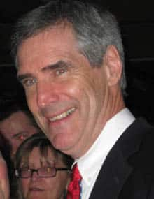 Michael Ignatieff, seen here Saturday night on the convention's final day in Gander, said he's personally unfazed by the Conservative TV ads.