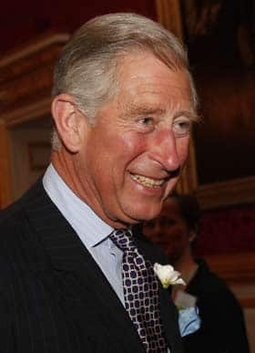 Prince Charles is shown during a reception at St James's Palace in London on May 28.