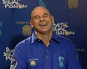 Cirque du soleil founder Guy Laliberté is scheduled to spend 12 days on the International Space Station.