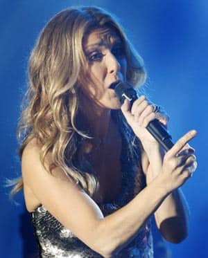celine dion 41 years old