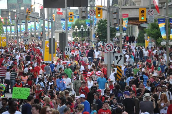 canada day images. Ottawa on Canada Day meant