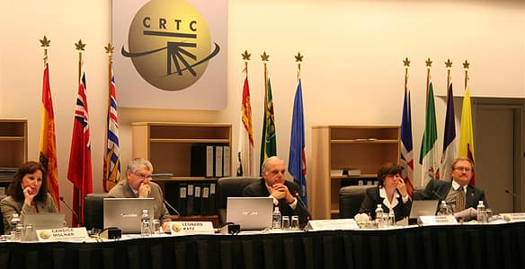 The CRTC is a social program that was formed after WWII in 1968 to oversee all broadcasting in Canada (5)