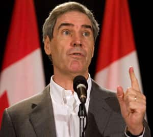 Liberal Leader Michael Ignatieff says a Liberal government would erase the $52-billion deficit 'hole' created by Stephen Harper's Conservatives without raising taxes.