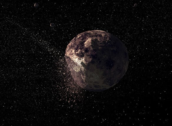 science in a can, Celestial mines Many asteroids are ...