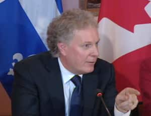 Quebec Premier Jean Charest says his province's interest in purchasing NB Power is to gain better access to the lucrative U.S. electricity market.