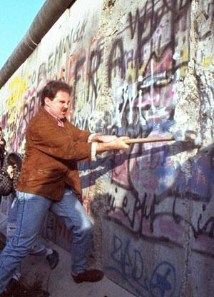 the factors that led to the fall of the famous berlin wall Famous people of the cold war this led to the division of europe into the the fall of the berlin wall and the ending of communist party rule in the soviet.