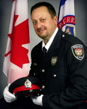 Const. Eric Czapnik, 51, was a father of four who had been with the Ottawa police force since April 2007.