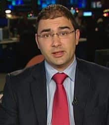 PMO spokesman Dimitri Soudas gives an interview with CBC News in Ottawa on Wednesday.