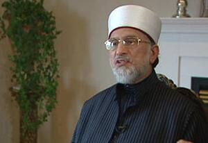 Muhammad Tahir ul-Qadri spoke to CBC News on Tuesday from an undisclosed location.