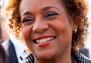 Gov. Gen. Michaëlle Jean is seen in this April 23, 2010 photo as she visits Sal Island in Cape Verde, the last stop on her African tour.