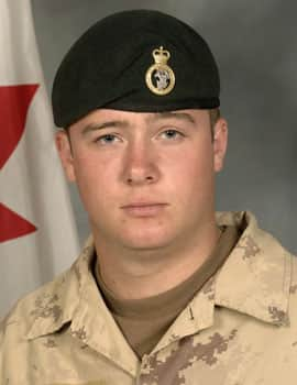 Pte. Kevin McKay of the 1st Battalion, Princess Patricia's <br /