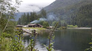 The Clayoquot Wilderness Resort could be closed for the summer season after a fire Tuesday.