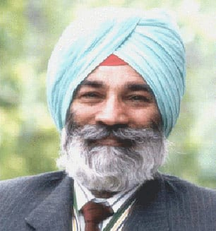 Publisher Tara Singh Hayer, who denounced the Air India bombers in his newspaper and told the RCMP he overheard one of them confess. Shot once and paralyzed from the waist down in 1988, he was shot fatally in 1998. (B.C. attorney general)