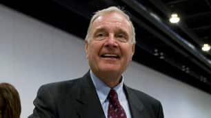 Former prime minister Paul Martin, shown at the Liberal leadership convention in Vancouver in May 2009, has criticized Prime Minister Stephen Harper's foreign policy in the lead-up to the G8 and G20 summits this weekend.