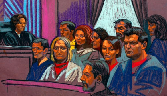 Russian spy suspects appear Thursday in Manhattan Federal Court, where they plead guilty to being unregistered foreign agents for Russia.