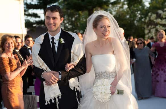 chelsea clinton boyfriend. Chelsea Clinton and Marc