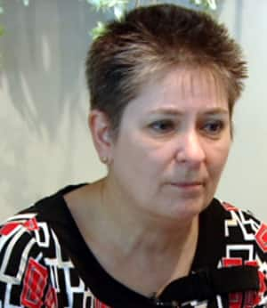 Janice Laporte told CBC News she is disappointed and frustrated with the recommendations in the report on surgical errors at Windsor-area hospitals. (Vince Robinet/CBC)