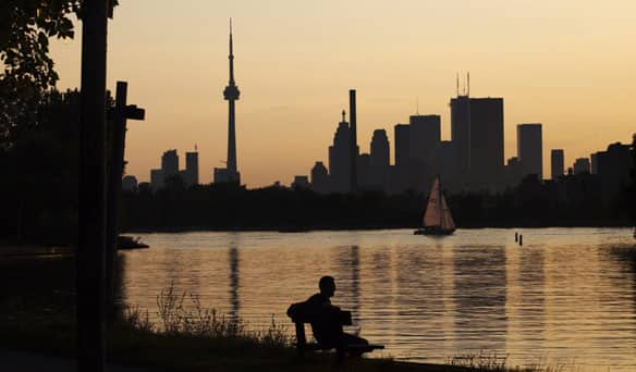 David Hulchanski told CBC's Metro Morning on Wednesday that Toronto risks becoming increasingly divided among income lines in the next 15 years if major steps aren't taken to boost affordable housing and address inequities. (Mark Blinch/Reuters)