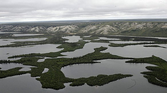 The pipeline's proposed route would run along the Mackenzie River Valley and through a number of remote Northwest Territories communities to northern Alberta.