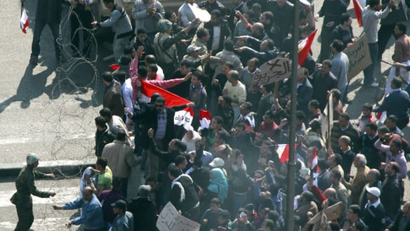 Egypt Rejects Western Calls for Quick Political Transition
