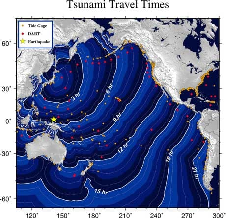 1964 alaska prince william sound earthquake. in Prince William Sound,