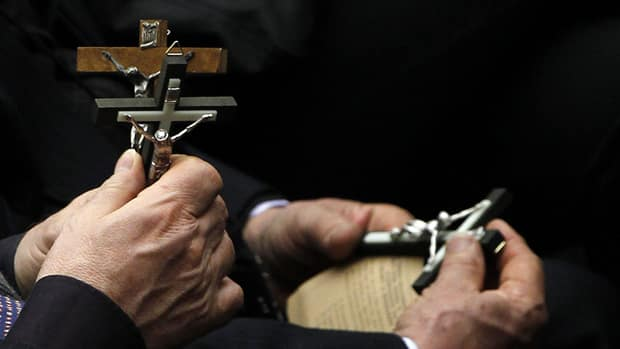 """In calling for European schools to be allowed to display the crucifix, the Vatican described it as """"one of the greatest symbols in the West."""""""