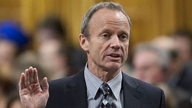 Former Conservative MP and cabinet minister Stockwell Day, who quit federal politics after 25 years in public office, says he won't support the B.C. Conservatives in the province's next election because he doesn't want vote-splitting to result in a NDP government.