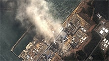 In wake of radiation leaks at the damaged a nuclear plant in Fukushima, Japan, shown above, many countries are expected to halt new nuclear plants and phase out older ones sooner than planned.