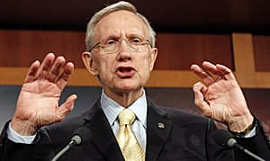 The Senate Majority Leader, Harry Reid, led the negotiations for the Democrats.