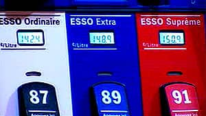 Regular unleaded gas was selling at $1.42 per litre in Montreal on Tuesday, 10 cents more than Monday. Supreme was selling at this Esso station for almost $1.51.