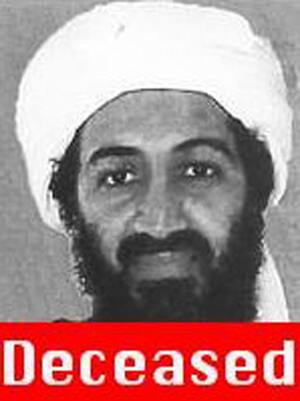 osama bin laden wife not used. Osama bin Laden, seen in this