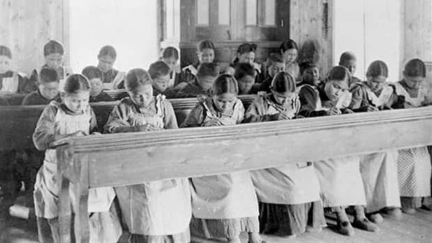 During much of the 20th century, aboriginal children were forced to attend residential schools that took them away from their families. Many say they suffered physical and sexual abuse.