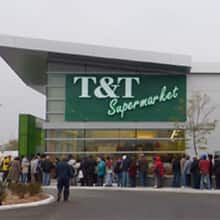 T & T Supermarket has 20 stores in British Columbia, Alberta and Ontario, including this store in Ottawa, shown on the day it opened in 2009.