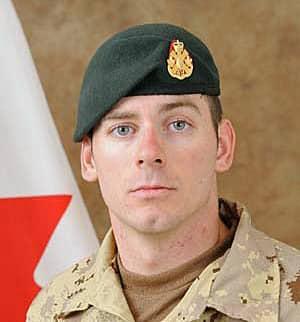 Cpl. Joshua Caleb Baker was killed at a firing range near Kandahar in 2010. (DND)