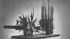 The piece, made up of four parts, was unveiled in 1966.