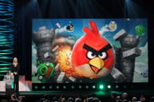 Google Plus will feature the Angry Birds game, shown here winning a Webby in June, as well as a poker game by Zynga, maker of FarmVille.