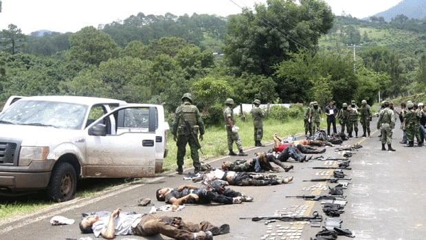 Are Los Zetas Losing Their Grip Zetas Cartel Victims
