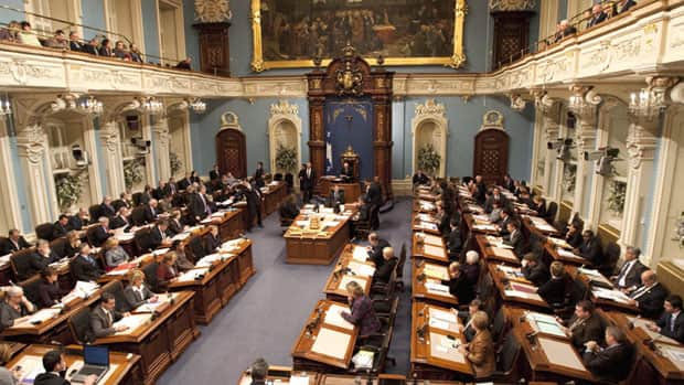 Opinions on National Assembly of Quebec