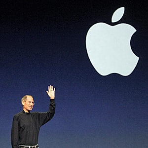 Jobs, who died Wednesday, saw Apple grow into a giant that employs almost 50,000 people globally. Its annual sales are expected to exceed $100 billion this year.