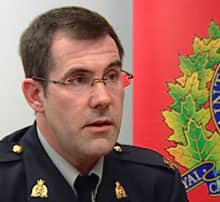 The armed robbery investigation was complicated, says RCMP Sgt. Andrew Blackadar.