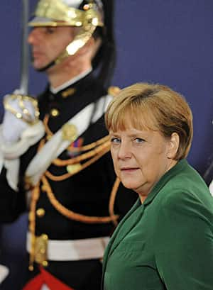 German Chancellor Angela Merkel doesn't want to be Europe's lender of last resort.