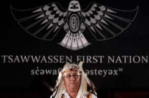Squiqel Tony Jacobs, the equivalent of a provincial speaker of the house, at the opening of the newly created Tsawwassen First Nation legislature on Nov. 2, 2010. The Coast Salish community south of Vancouver signed a self-governance treaty in 2009 and formed the first urban First Nations government in Canada.
